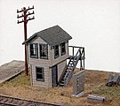 Michigan Avenue Tower Kit -- Model Railroad Building -- N Scale -- #570