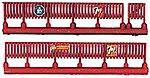Custom Fencing -- Model Railroad Building Accessory -- N Scale -- #605