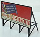 Custom Billboards 1940s Tobacco -- Model Railroad Sign -- HO Scale -- #980