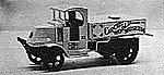 1923 Mack Circus Water Tank Truck -- Plastic Model Kit -- HO Scale -- #232