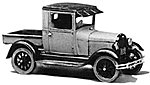 1928 A Ford Pickup Truck -- Plastic Model Kit -- HO Scale -- #240
