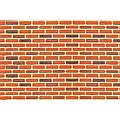 Patterned Plastic Brick (2) -- HO Scale Model Railroad Building Accessory -- #97422
