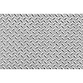 Patterned Plastic Diamond Metal Plate -- HO Scale Model Railroad Building Accessory -- #97449
