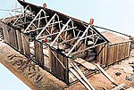 Lucas Sawmill Kit -- O Scale Model Railroad Building -- #4021