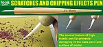 Scratches & Chipping Effects Pen w/Wooden Handle