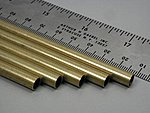 1/4''x36'' Round Brass Tube .014 Wall (5)
