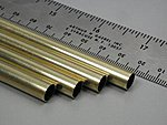 5/16''x36'' Round Brass Tube .014 Wall (4)