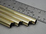 11/32''x36'' Round Brass Tube .014 Wall (4)