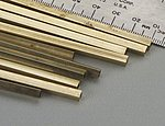 Square Brass Tube 5/32 (10)