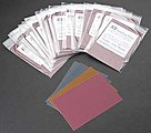Regular Assorted Sandpaper 5''x7.5'' (5pc/bag)