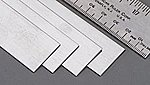 (bulk of 4) Stainless Steel Strip 12'' -- .028 x 1''