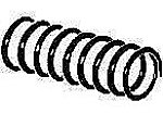 Coupler Springs -- Centering for #s 804, 805 & 806 - O-Scale (12)