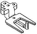 Flex bracket f/#830    2/ - G-Scale (2)
