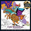 EPIC JOURNEYS Coloring Book