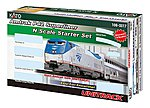 Amtrak Superliner Starter Set -- N Scale Model Train Set -- #1060017