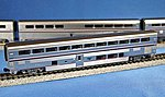 Amtrak Superliner 4-Car Set A Phase IVb -- N Scale Model Train Passenger Car -- #1063515