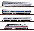 Amtrak 40th Anniversary Train-Only Set Amtrak #66 -- N Scale Model Train Set -- #10662862