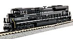EMD SD70ACe New York Central #1066 -- N Scale Model Train Diesel Locomotive -- #1768504
