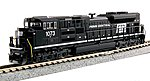 EMD SD70ACe Penn Central #1073 -- N Scale Model Train Diesel Locomotive -- #1768510