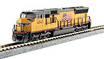 EMD SD70M DCC UP 4843 - N-Scale
