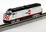 EMD F40PH Commuter Version Caltrain #914 -- N Scale Model Train Diesel Locomotive -- #1769004