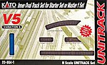 Unitrack V5 - Inside Loop Track Set -- N Scale Nickel Silver Model Train Track -- #208641