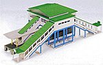 Overhead Station -- N Scale Model Railroad Building -- #23200