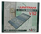 V52 Unitram Double Street Expansion -- N Scale Model Railroad Road Accessory -- #40802