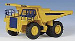 European Komatsu Heavy-Duty 785-5 Dump Truck Kit -- HO Scale Model Vehicle -- #11660