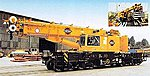 Railway telescoping crane - HO-Scale