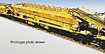 MFS 100 Ballast Cleaning/Collecting Conveyor Car Kit -- HO Scale Model Railroad -- #16150