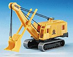 Menck Tracked Excavator Kit -- N Scale Model Railroad Vehicle -- #19101