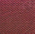 Plastic Sheet Red Brick -- HO Scale Model Railroad Scratch Supply -- #34122