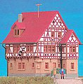 Weincastell Hotel/Restaurant Kit -- Z Scale Model Railroad Building -- #36405