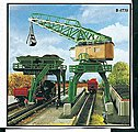 Coaling Tower & Traveling Crane Kit -- Z Scale Model Railroad Accessory -- #36738