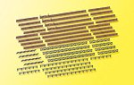 Fences Kit -- N Scale Model Railroad Building Accessory -- #37480