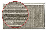 Wall Section Dressed Stone Kit -- N Scale Model Railroad Building Accessory -- #37968