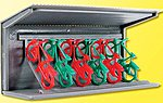 Bicycle Stand Kit -- HO Scale Model Railroad Building Accessory -- #38143