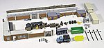 Backyard Assortment Set -- HO Scale Model Railroad Accessories -- #38313