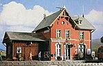 Reischelsheim Station -- HO Scale Model Railroad Building Kit -- #39492