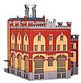 Brewery in Rheinfelden -- HO Scale Model Railroad Building Kit -- #39825