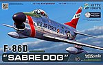 F86D Sabre Dog USAF Fighter (New Tool) -- Plastic Model Airplane Kit -- 1/32 Scale -- #32007