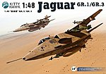 Sepecat Jaguar GR1/3 Aircraft -- Plastic Model Airplane Kit -- 1/48 Scale -- #80106
