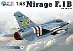 Mirage F1B Fighter -- Plastic Model Airplane Kit -- 1/48 Scale -- #80112