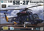 SH2D Seasprite Helicopter -- Plastic Model Helicopter Kit -- 1/48 Scale -- #80122
