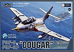 F9F8 Cougar Fighter -- Plastic Model Airplane Kit -- 1/48 Scale -- #80127