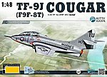 TF9J Cougar Fighter -- Plastic Model Airplane Kit -- 1/48 Scale -- #80129