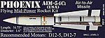 Phoenix AIM-54C 1.6' -- Skill Level 3 Model Rocket Kit -- #17
