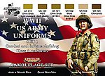 US Army WWII Class A Uniforms #1 Camouflage Acrylic (6 22ml Bottles)