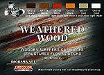 Weathered Wood Diorama Acrylic Set (6 22ml Bottles)